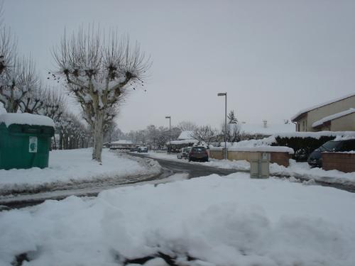 NEIGE sur St-Juéry 2006