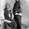 Sioux leaders Painted Horse and Little Bull. Photo from 1880-1900 by Geoffrey Duncan.
