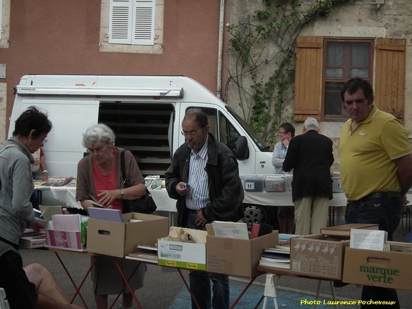 La bourse aux livres de Laignes a eu lieu dimanche 31 août 2014...