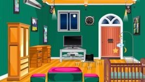 Green condo room escape