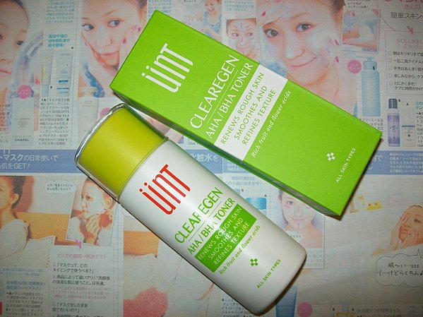 Unt Skincare AHA/BHA toner