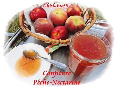 Confiture Pêche-Nectarine