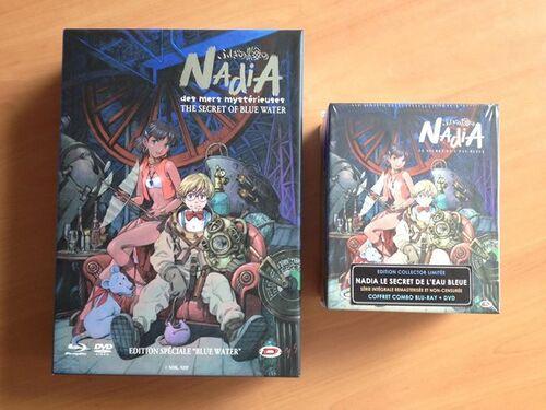 Nadia, le secret de l'eau bleue - Intégrale - Edition Collector Limitée