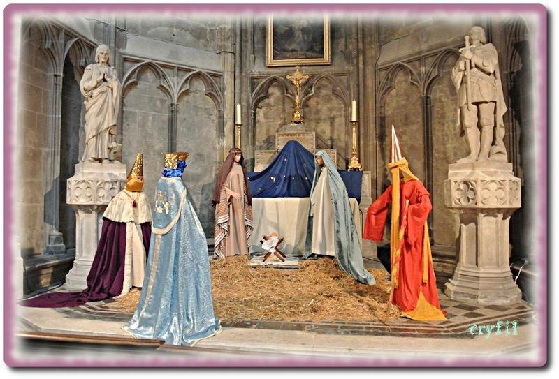 Les crèches à la cathédrale