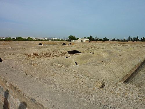 citernes de la Malga près de Carthage (4)