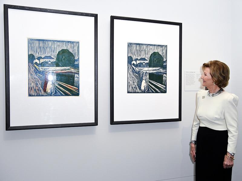 """""""Munch. Love and Angst"""" (Munch, l'amour et la peur)"""