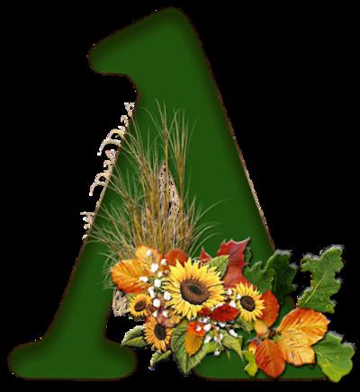 Alfabet autumn