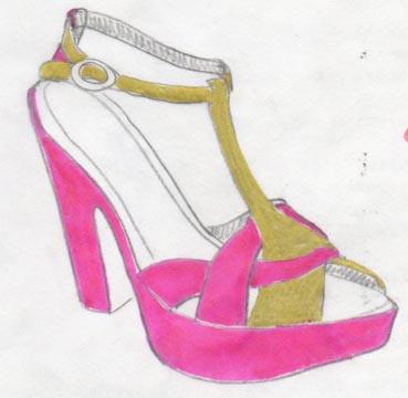 talons, heels, platform