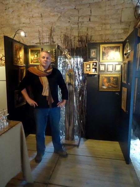 Pierre Vidal et Fabien Ansault exposent à la galerie Les Z'uns possibles à Chamesson