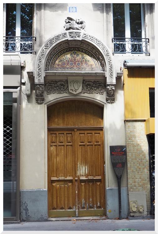 Portes. 13ème Arrondissement. Paris
