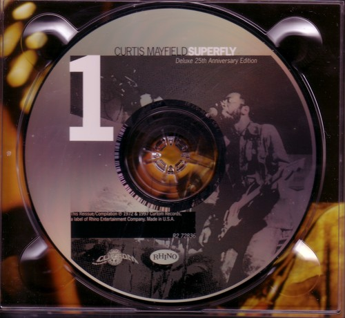 "1997 : CD "" Superfly Deluxe 25Th Anniversary Edition "" Curtom / Rhino Records R2 72836 [ US ]"