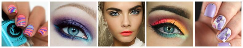 Explosion de couleurs [Défi du Lundi] maquillage