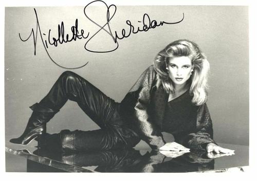 Nicollette Sheridann.