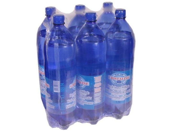 Polluants eau Cristaline