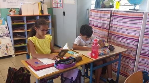 Plaisir de lire et d'écrire pour les élèves du CM1a
