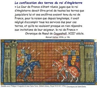 L'affirmation des rois capétiens et valois (XIe - XVe siècle)