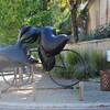 """AUVILLAR (09/2016) Une des nombreuses scultures de """"TOUNTAIN"""""""