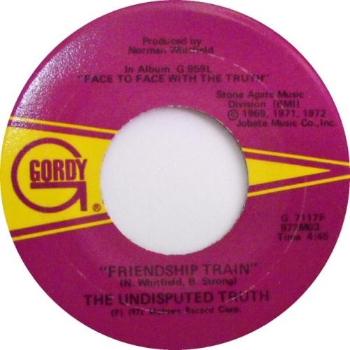 1972 : Single SP Gordy Records G 7117F / G 7117F Promo [ US ]
