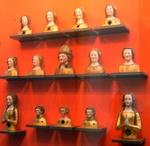 Reliquienköpfe in Sankt Kunibert