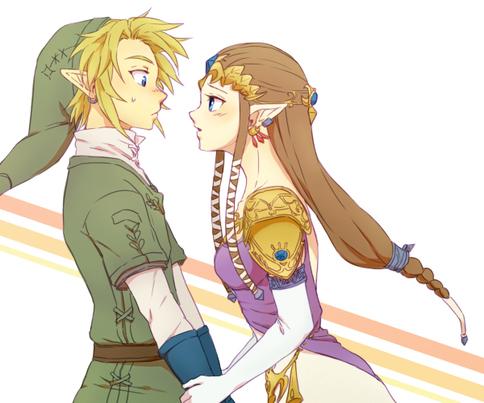 Link x Zelda 2 *^*