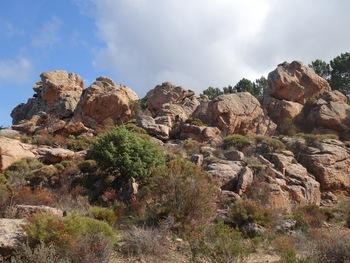 Les rochers de Piana
