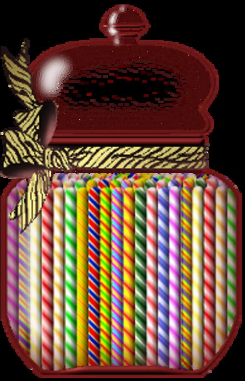 Bonbons en boite