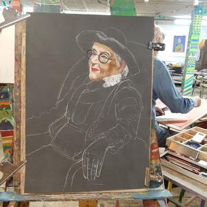 Dimanche - En cours : Portrait de femme (3)