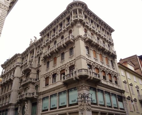 Promenade dans Trieste en Italie (photos)