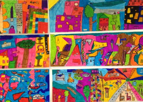 Le thème de la ville abordé en Arts Visuels