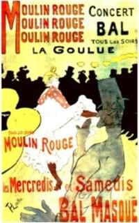 10 juin 2011 Photo Moulin Rouge La Goulue affiche