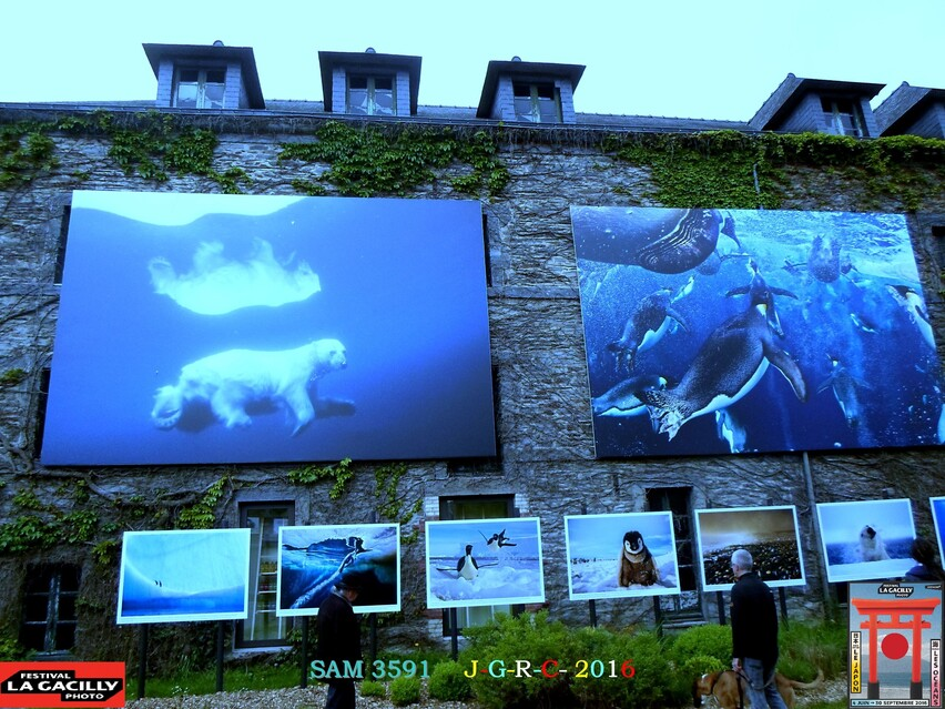 EXPOSITION PHOTO 2016  LA  GACILLY            D   27/08/2016