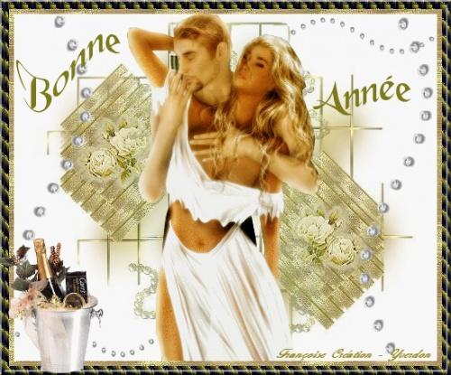 QUE L'ANNEE 2012 VOUS APPORTE LE BONHEUR MES AMIES (S)
