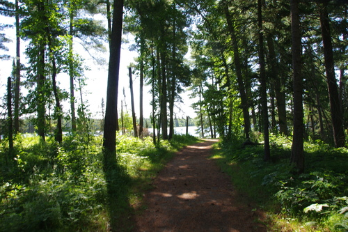 Les sources du Mississipi, le lac Itaka