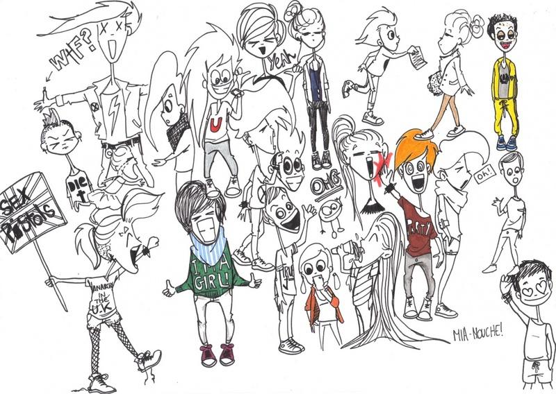 Des petits personnages !