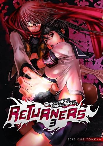 Returners - Tome 03 - Sakurako Gokurakuin