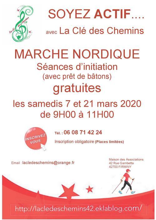 Les samedis 7 et 21 mars 2020 - Séances d'initiation GRATUITES