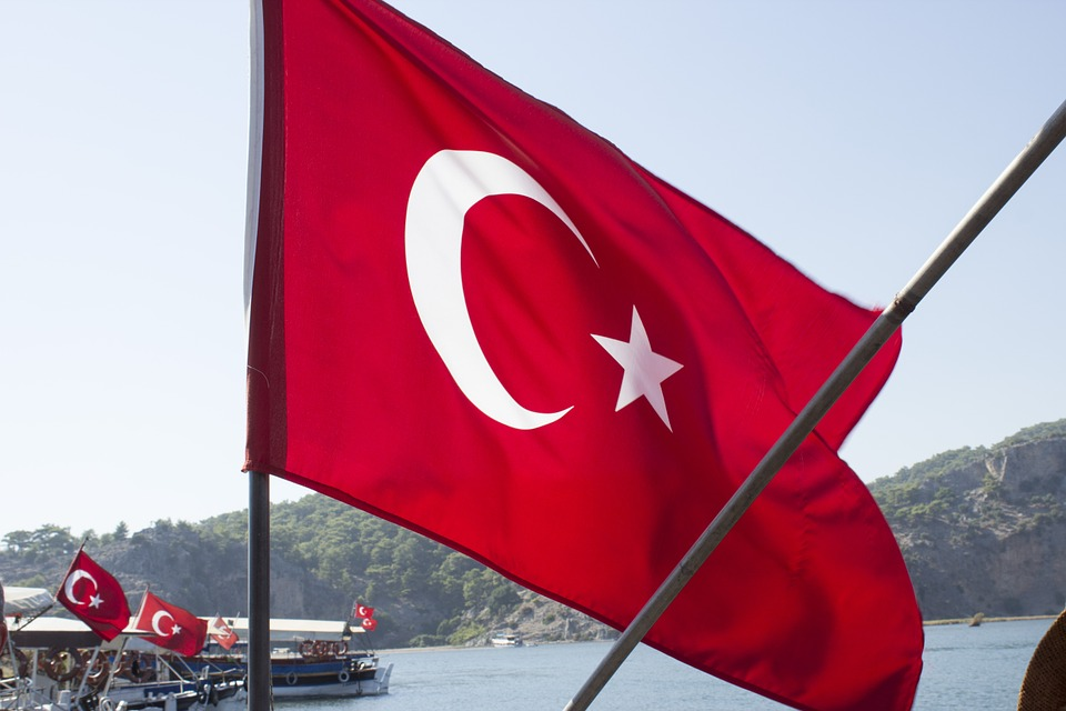 Turquie, Drapeau, Red, Pays, Nationale, Turque, Nation