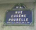 photo rue Eugène Poubelle