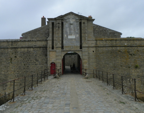 La citadelle de Port-Louis
