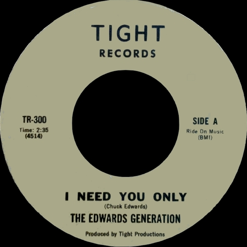 "The Edwards Generation featuring Chuck : Album "" In San Francisco ''The Street Thang'' "" Tight Records TLPS 401 [ US ]"