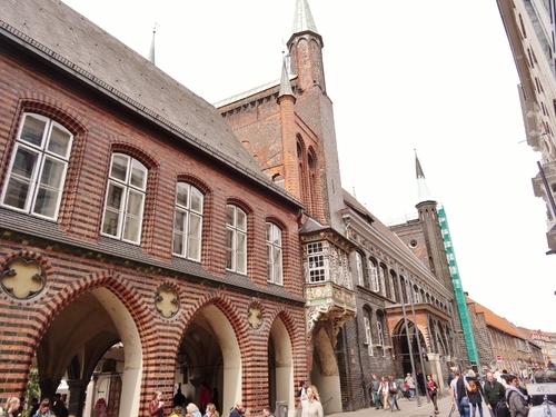 Lübeck en Alleamgne: autour du Rathaus (photos)