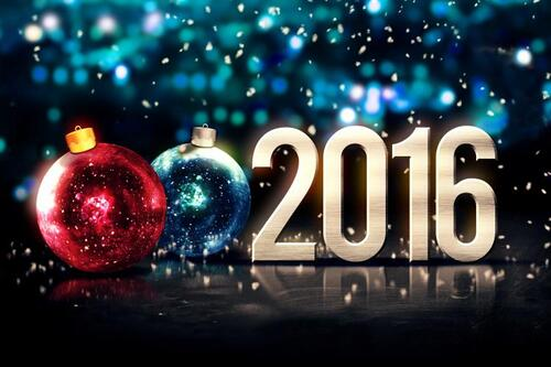 HAPPY NEW YEAR 2016, HEUREUSE ANNEE 2016