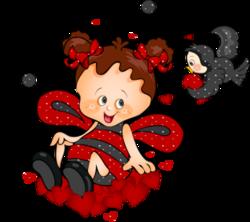 Tubes St-Valentin Coccinnelle