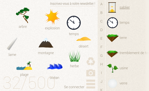 Applis tablette - Little alchemy (gratuite)
