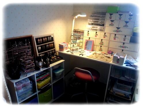 atelier, broderie, bijoux,  marie cazaubon, argentat