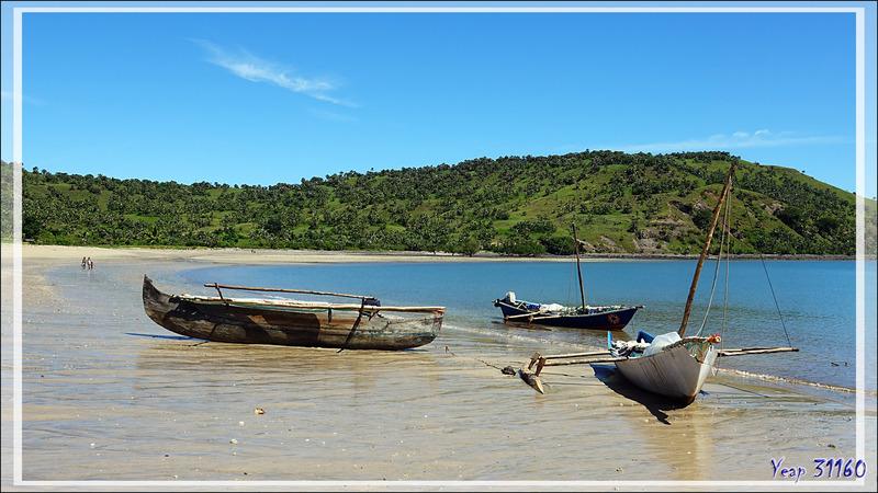 Ambaramidada : un village de pêcheurs bien protégé au fond d'une belle baie - Grande Mitsio - Madagascar