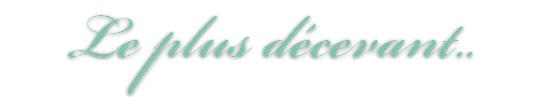 Bilan des dramas 2011. (Par Park Léna)
