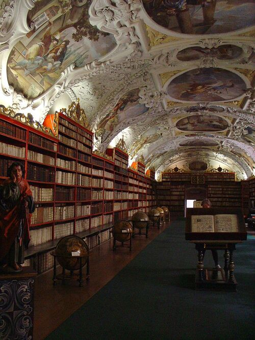 Monastère de Strahov...