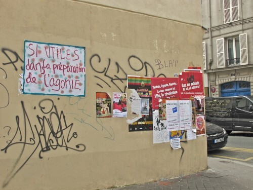street-art Oberkampf texte agonie 9616