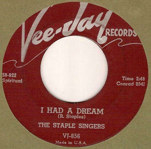 The Staple Singers : I Had A Dream